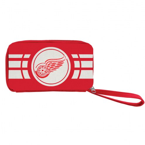 Detroit Red Wings Ripple Zip Wallet