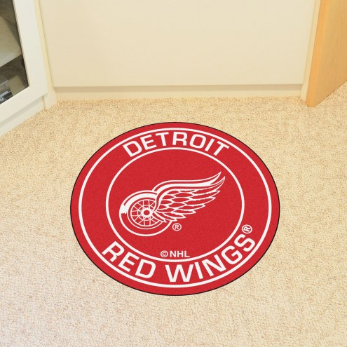 Detroit Red Wings Rounded Mat