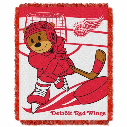 Detroit Red Wings Score Baby Blanket