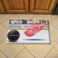 Detroit Red Wings Scraper Door Mat