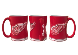 Detroit Red Wings Sculpted Relief Coffee Mug