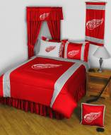 Detroit Red Wings Sidelines Bed Comforter