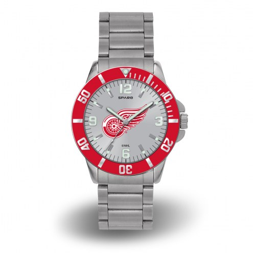 Detroit Red Wings Sparo Men's Key Watch