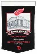 Detroit Red Wings Stadium Banner