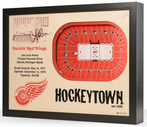 Detroit Red Wings Stadium View Wall Art