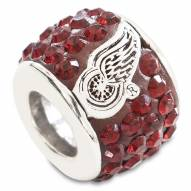 Detroit Red Wings Sterling Silver Charm Bead