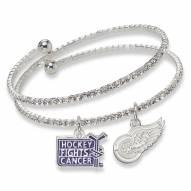 Detroit Red Wings Support HFC Crystal Bracelet