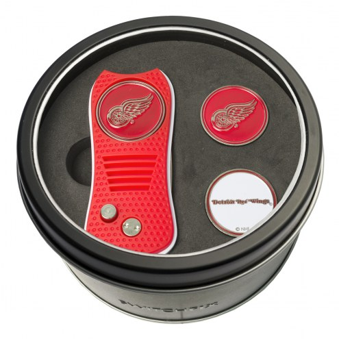 Detroit Red Wings Switchfix Golf Divot Tool & Ball Markers