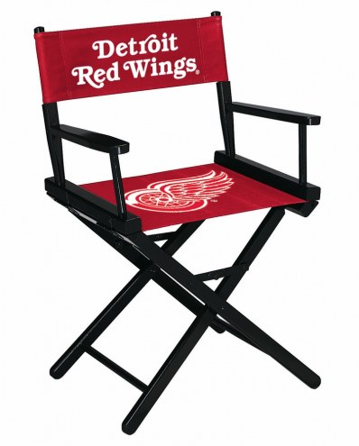 Detroit Red Wings Table Height Director's Chair