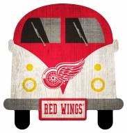 Detroit Red Wings Team Bus Sign