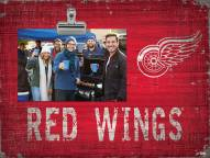 Detroit Red Wings Team Name Clip Frame