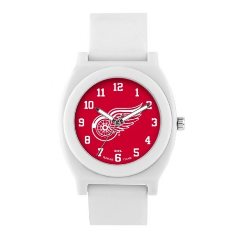 Detroit Red Wings Unisex Fan White Watch
