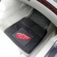 Detroit Red Wings Vinyl 2-Piece Car Floor Mats