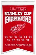 Detroit Red Wings Champs Banner