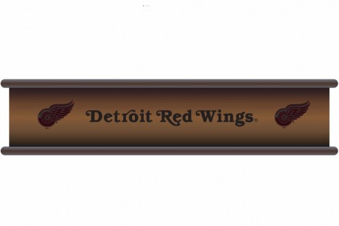 Detroit Red Wings Wood Wall Shelf