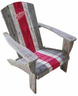 Detroit Red Wings Wooden Adirondack Chair