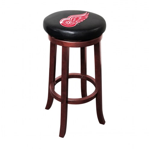Detroit Red Wings Wooden Bar Stool