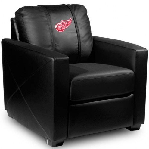 Detroit Red Wings XZipit Silver Club Chair