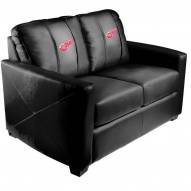 Detroit Red Wings XZipit Silver Loveseat