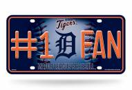 Detroit Tigers #1 Fan License Plate