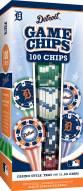 Detroit Tigers 100 Piece Poker Chips