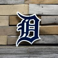 "Detroit Tigers 12"" Steel Logo Sign"