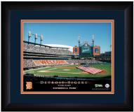Detroit Tigers 13 x 16 Personalized Framed Stadium Print