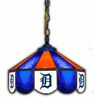 "Detroit Tigers 14"" Glass Pub Lamp"