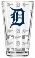 Detroit Tigers 16 oz. Sandblasted Pint Glass