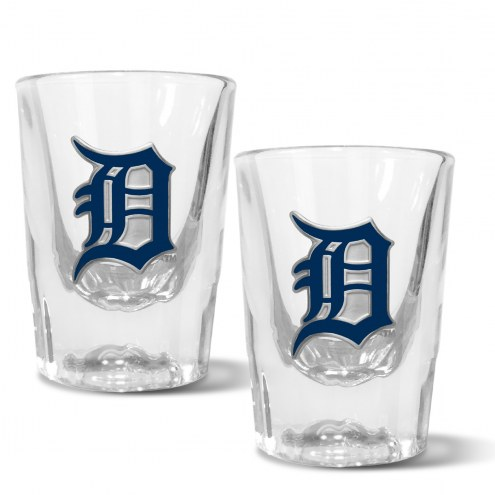 Detroit Tigers 2 oz. Prism Shot Glass Set