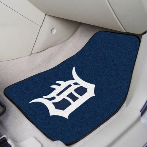Detroit Tigers 2-Piece Carpet Car Mats