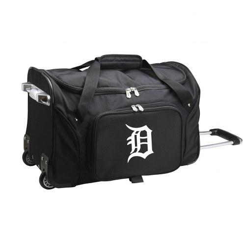 "Detroit Tigers 22"" Rolling Duffle Bag"