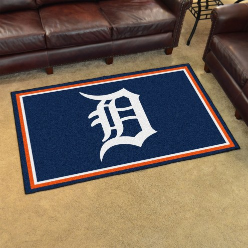 Detroit Tigers 4' x 6' Area Rug