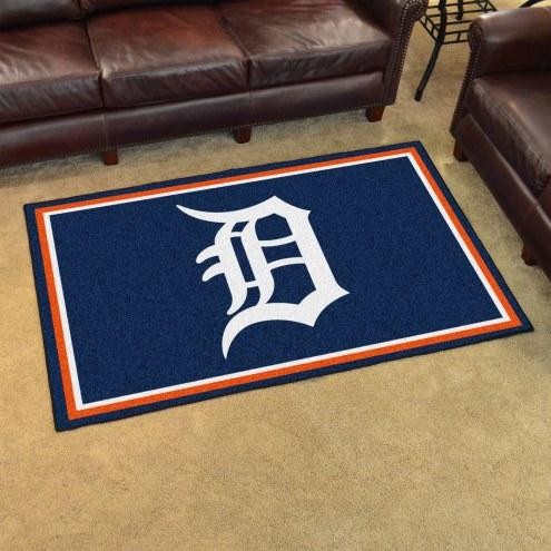 Detroit Tigers 4' x 6' Area Rug