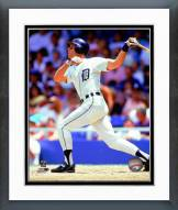 Detroit Tigers Alan Trammell 1990 Action Framed Photo
