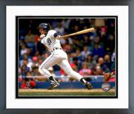 Detroit Tigers Alan Trammell Action Framed Photo