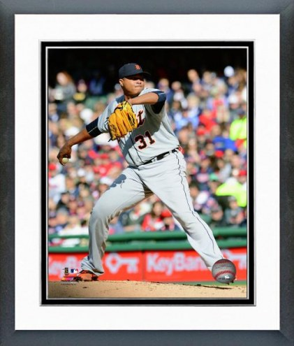 Detroit Tigers Alfredo Simon Action Framed Photo