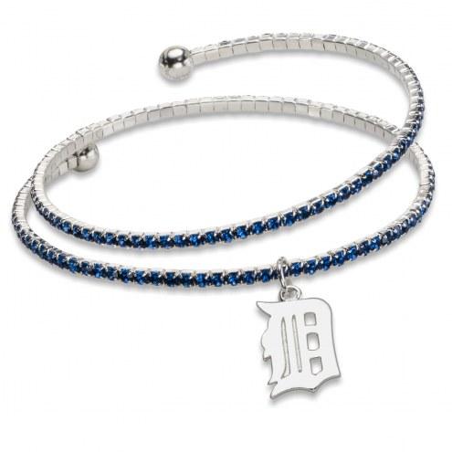 Detroit Tigers Amped Logo Crystal Bracelet