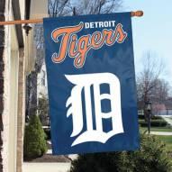 Detroit Tigers Applique 2-Sided Banner Flag