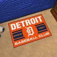 Detroit Tigers Baseball Club Starter Rug