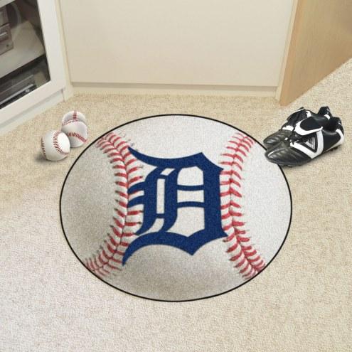 Detroit Tigers Baseball Rug