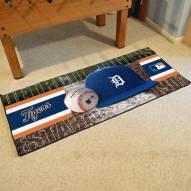 Detroit Tigers Baseball Runner Rug