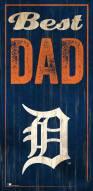 Detroit Tigers Best Dad Sign
