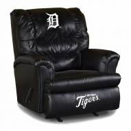 Detroit Tigers Big Daddy Leather Recliner