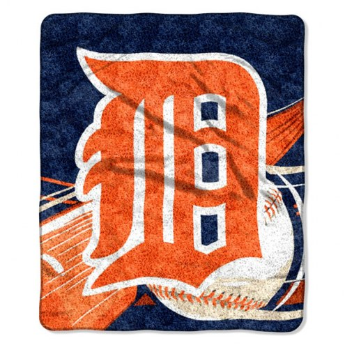 Detroit Tigers Big Stick Sherpa Blanket