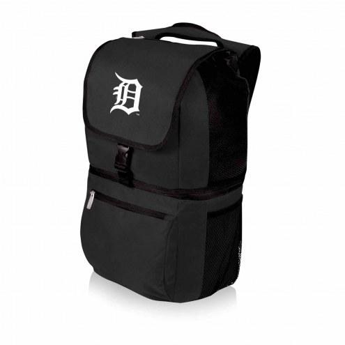 Detroit Tigers Black Zuma Cooler Backpack