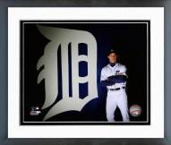Detroit Tigers Brad Ausmus Posed Framed Photo