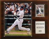 """Detroit Tigers Brennan Boesch 12"""" x 15"""" Player Plaque"""