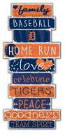 Detroit Tigers Celebrations Stack Sign