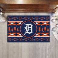 Detroit Tigers Christmas Sweater Starter Rug
